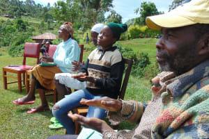 The Water Project: Chepnonochi Community, Shikati Spring -  Learning Proper Handwashing Technique