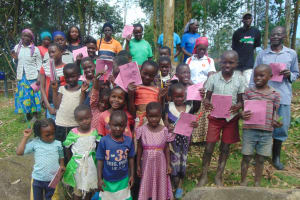 The Water Project: Bukhaywa Community, Ashikhanga Spring -  Smiles After Completing Training