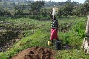 The Water Project: Mahira Community, Kusimba Spring -  Ready To Walk Home