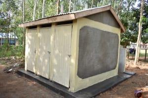 The Water Project: St. Peter's Khaunga Secondary School -  New Boys Vip Latrines