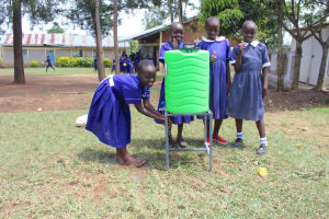 The Water Project: Makale Primary School -  Handwashing At A New Station