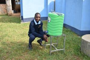 The Water Project: St. Peter's Khaunga Secondary School -  Handwashing