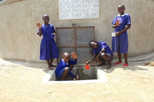The Water Project: Makale Primary School -  Kenya Students Celebrating Water