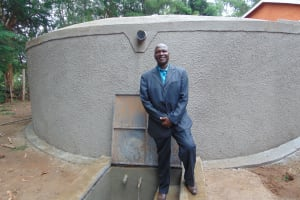 The Water Project: Friends Kuvasali Secondary School -  Joshua The Principal