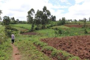 The Water Project: Mahira Community, Litinyi Spring -  Landscape