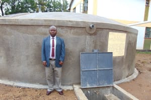 The Water Project: Friends Secondary School Shirugu -  Deputy Head Teacher Moses Kisiangani