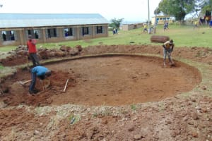 The Water Project: Friends Secondary School Shirugu -  Site Excavation Process