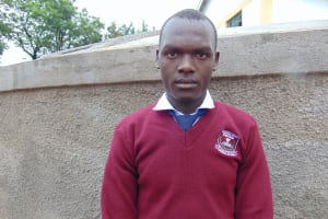 The Water Project: Friends Secondary School Shirugu -  Student Elvis