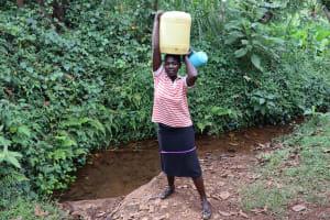 The Water Project: Harambee Community, Elijah Kwalanda Spring -  Ready To Head Home