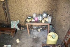 The Water Project: Mahira Community, Litinyi Spring -  Inside Kitchen Dishrack