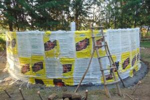 The Water Project: Friends Kuvasali Secondary School -  Sugar Sacks Tied Down