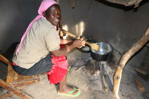 The Water Project: Mukhonje Community, Mausi Spring -  Cooking