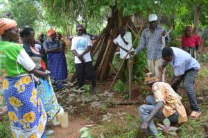 The Water Project: Katovya Community -  Community Mapping Exercise