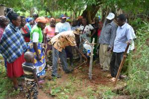 The Water Project: Katovya Community -  Handwashing Demonstration