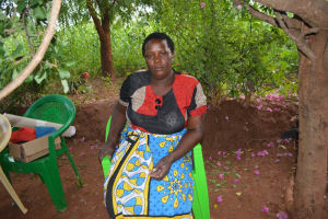 The Water Project: Katovya Community -  Kyambi Mwangangi Farmer