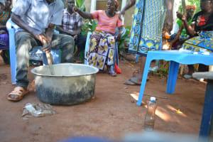 The Water Project: Katovya Community -  Mixing Soap