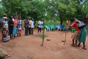 The Water Project: Katovya Community -  Training Activity