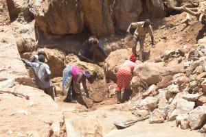 The Water Project: Katovya Community -  Digging
