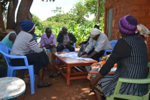 The Water Project: Kasekini Community A -  Community Training Activity