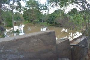 The Water Project: Kasekini Community -  Complete Dam