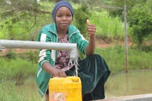 The Water Project: Kasekini Community A -  Thumbs Up