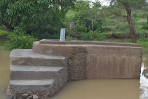 The Water Project: Kasekini Community A -  Well Awaits Pump To Be Installed