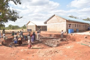 The Water Project: Murwana Primary School -  Foundation Site Work