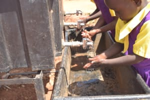 The Water Project: Murwana Primary School -  Handwashing