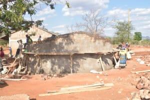 The Water Project: Murwana Primary School -  Wall Progress