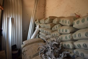 The Water Project: Nyanyaa Secondary School -  Cement Bags