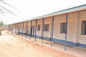 The Water Project: Nyanyaa Secondary School -  Guttering