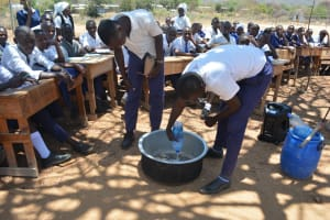 The Water Project: Nyanyaa Secondary School -  Soapmaking Demonstration