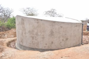 The Water Project: Nyanyaa Secondary School -  Tank Cures