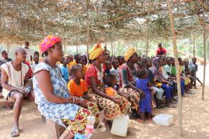 The Water Project: Lokomasama, Gbonkogbonko, Kankalay Primary School -  Community Members At The Training