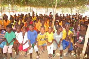 The Water Project: Lokomasama, Gbonkogbonko, Kankalay Primary School -  Students At The Training