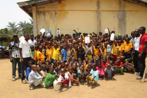 The Water Project: Lokomasama, Gbonkogbonko, Kankalay Primary School -  Training Participants