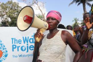 The Water Project: Lokomasama, Gbonkogbonko, Kankalay Primary School -  Yando Kamara Leading A Song