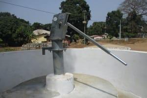 The Water Project: Lungi, Mahera, Mahera Health Clinic -  Finished Project