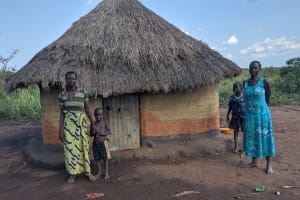 The Water Project: Alero B Community -  Standing At Home