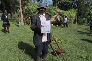 The Water Project:  A Village Elder At The Training