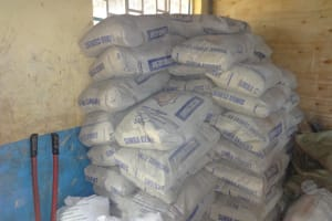 The Water Project: St. Michael Mukongolo Primary School -  Hardware And Cement Ready For Use
