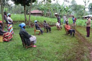 The Water Project: Wanzuma Community, Wanzuma Spring -  Ongoing Training