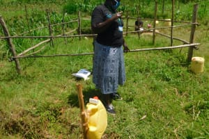 The Water Project: Sichinji Community, Kubai Spring -  Team Ledaer Emmah Explains The Importance Of Water And Soap For Handwashing