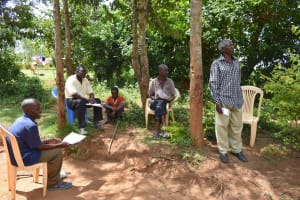 The Water Project: Musango Community, M'muse Spring -  Reactions To The Training
