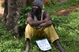 The Water Project: Musango Community, Emufutu Spring -  Community Member Following The Training