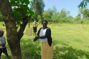 The Water Project: Ataku Community, Ngache Spring -  Handwashing Demonstration At Ngache Spring