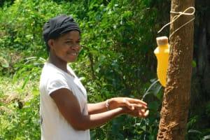 The Water Project: Mungakha Community, Asena Spring -  Smiles While Handwashing
