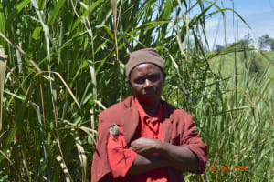 The Water Project: Emulembo Community, Gideon Spring -  Water Committee Treasurer At Training