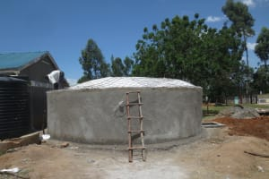 The Water Project: St. Gerald Mayuge Secondary School -  Dome Construction