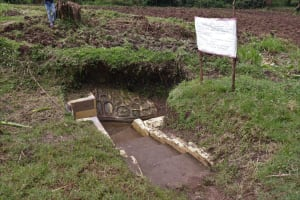 The Water Project: Malava Community, Ndevera Spring -  The Chart At The Spring